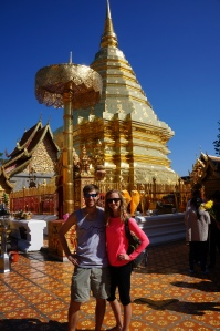 Wat Doi Suthep (all of the temples here are beautiful)