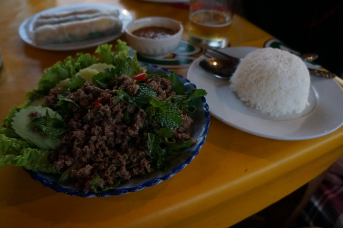 Alison's Top Pick: Beef Laap with Sticky Rice