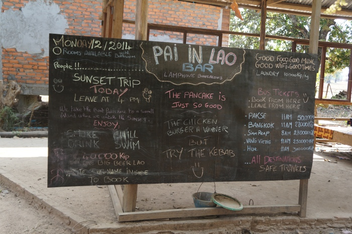 "Pai and Don Det are ""same, same but different"" as the locals like to say!"