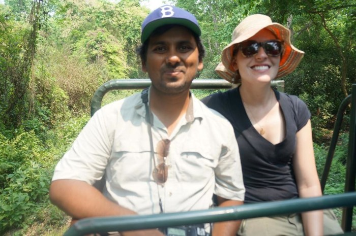 Safari adventures with Tanveer and Kelly