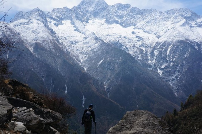The views were breathtaking throughout the trek.