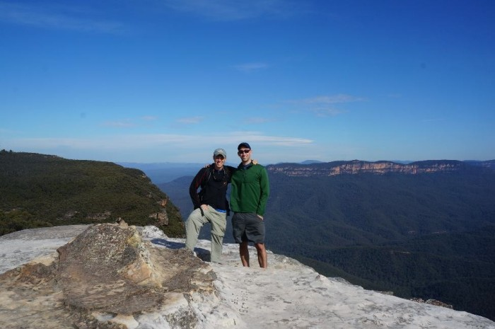 Spectacular views at the Blue Mountains