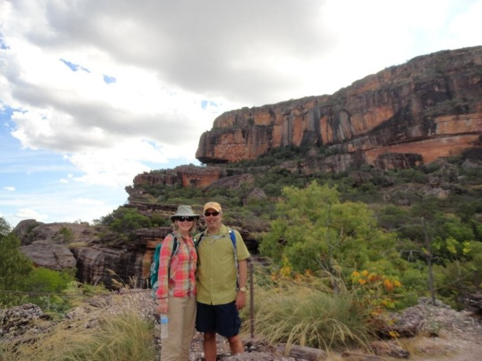 Interesting rock formations around Kakadu National Park during our hike.