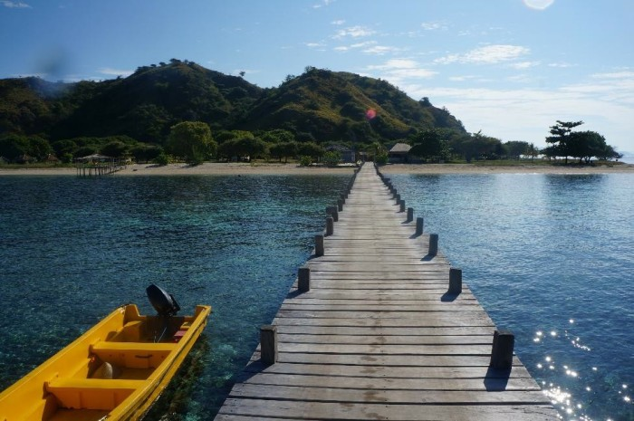 We couldn't get enough of Kanawa Island near Komodo national park
