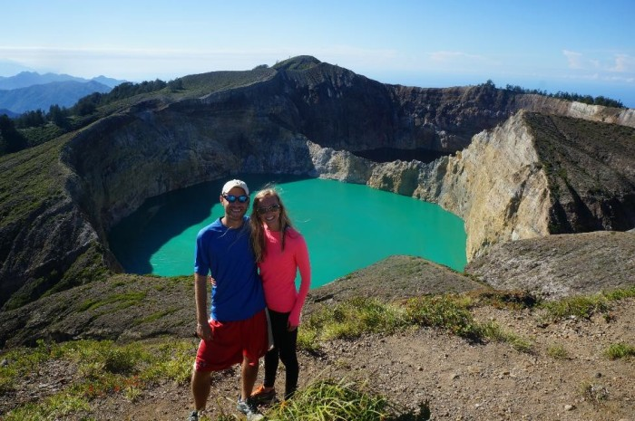 Going slow allowed us to take in some cool sights in Flores, like the brightly-colored acidic crater lakes of Kelimutu