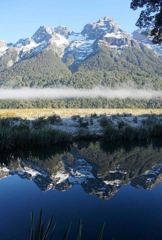 Mirror Lakes en route to Milford Sound
