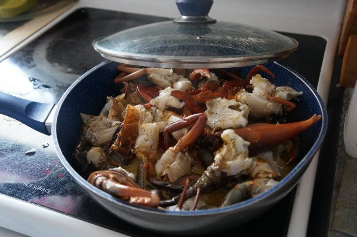 The Aborigines taught us how to make chili crab
