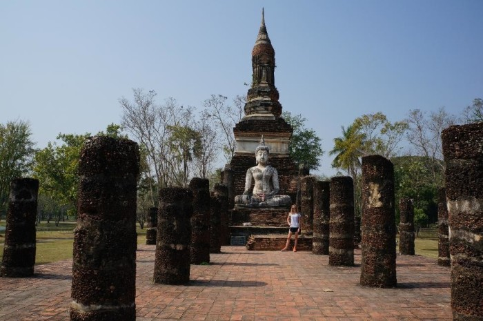 But getting off the beaten path to see the ancient ruins of Sukhothai was cool, too!