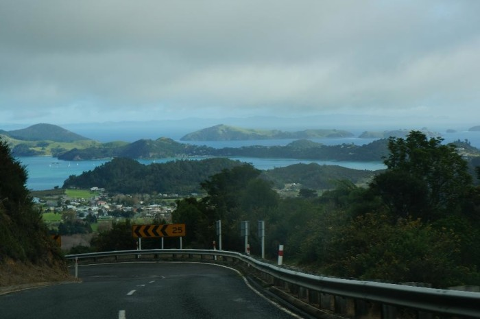 Driving in Coromandel Peninsula