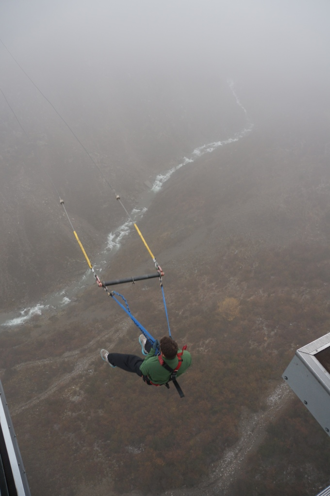 Dropping in
