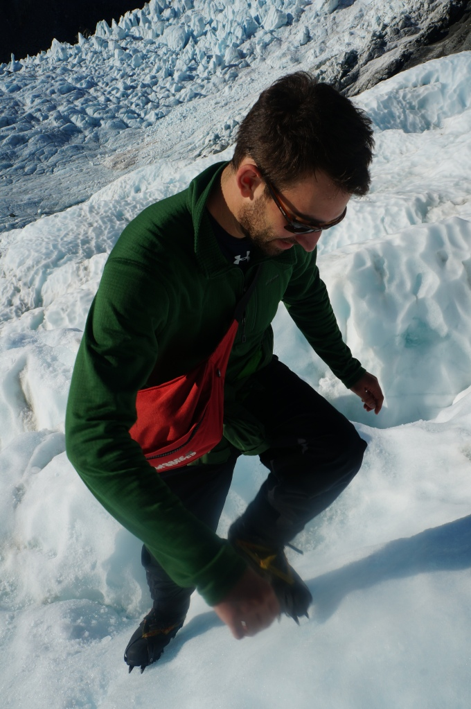 Crampons are awesome!