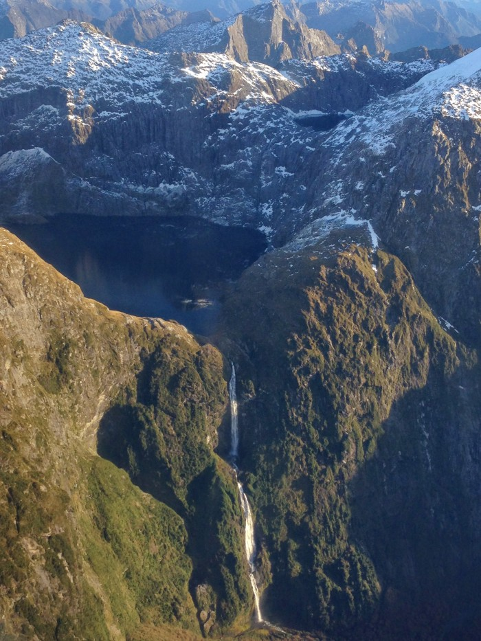 Tallest waterfall in New Zealand