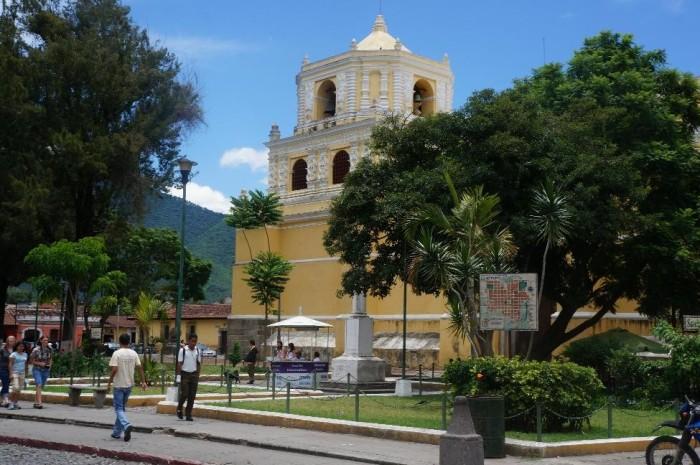 The beautiful La Merced Church