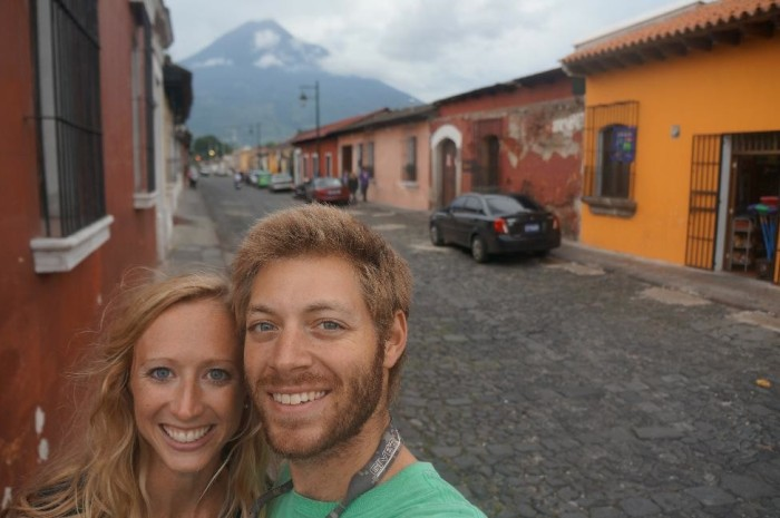 The Agua Volcano provides a gorgeous city backdrop.