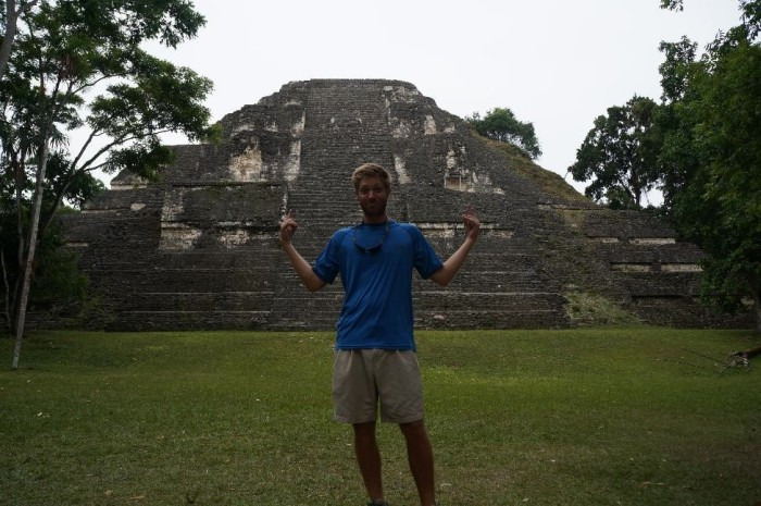 Oldest structure at the site - this guy dates back to 400 BC