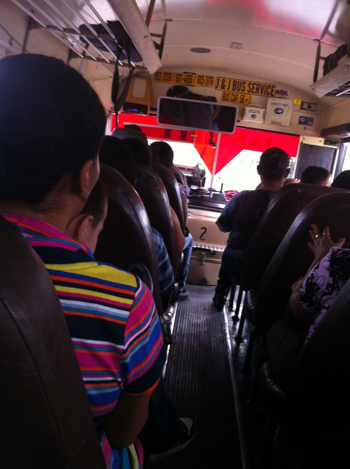 Everybody move to the back of the bus!