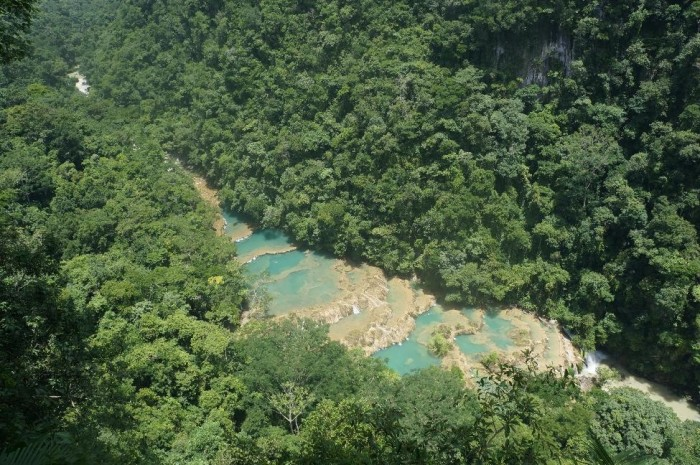 These pools are the main attraction of Semuc Champey