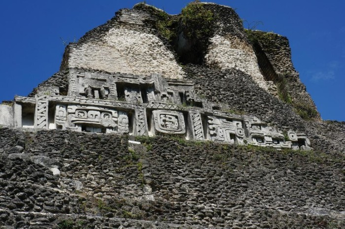 Xunantunich does not contain as much detailing on its walls as some of the Hindu and Buddhist ruins we saw in Southeast Asia. Regardless, a remarkable accomplishment given they broke ground here around 7th Century AD.