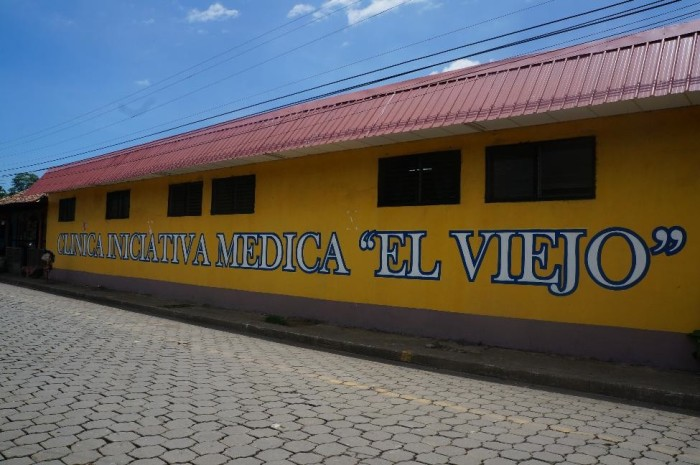 The medical clinic in El Viejo, Nicaragua.