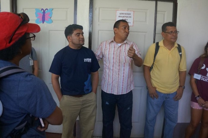 Dr. Chico and Oscar elaborated to the group on the current status of the clinic