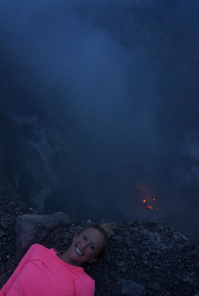 That's real lava down there