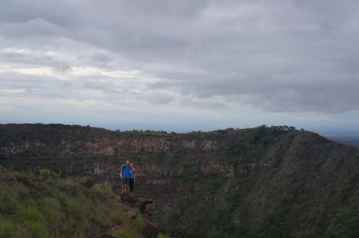 Inactive crater of Masaya