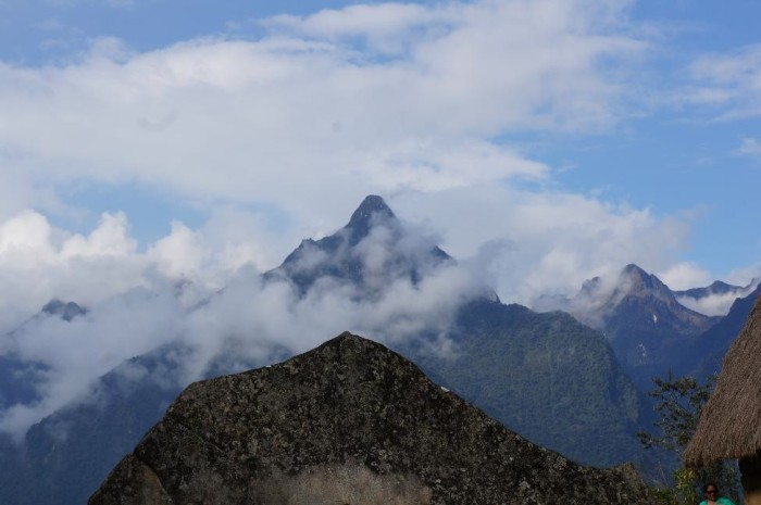 You can see the incredible resemblance between the Sacred Rock and Cerro Pumasillo