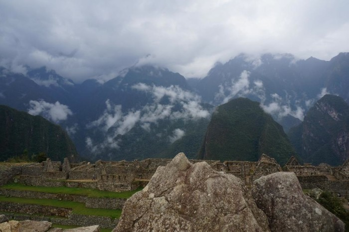 Another rock resembling  the surrounding mountain peaks. The Incas were certainly detail oriented.