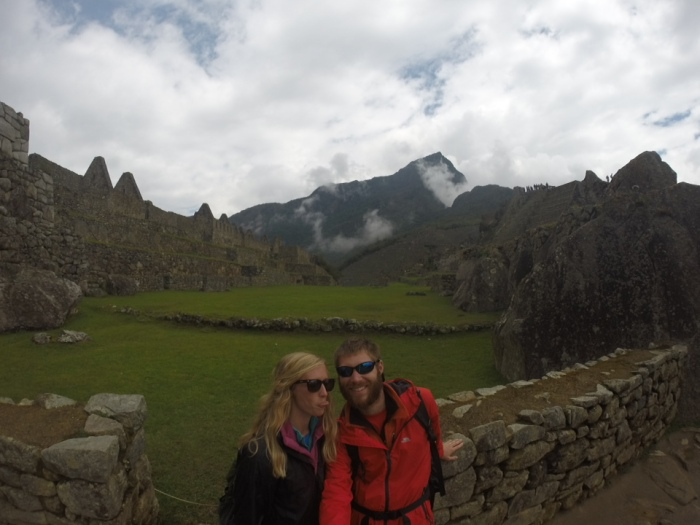When at Machu Picchu, stick your tongue out? Not exactly the best look..