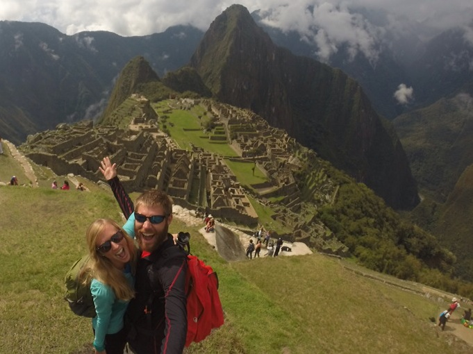 After a foggy and rainy start to our day, it was a Machu Picchu miracle that the sun came out!