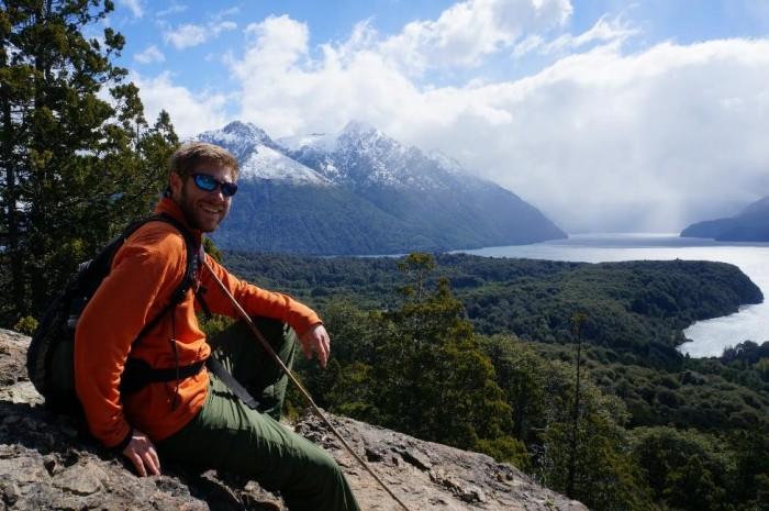 Only real mountain men use walking sticks!