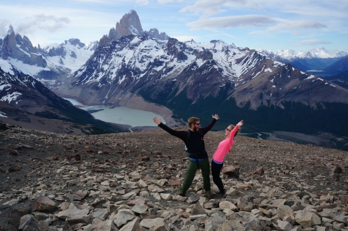 """Nothing in Mendoza made us say """"Wow!""""  This hike in El Chalten did."""