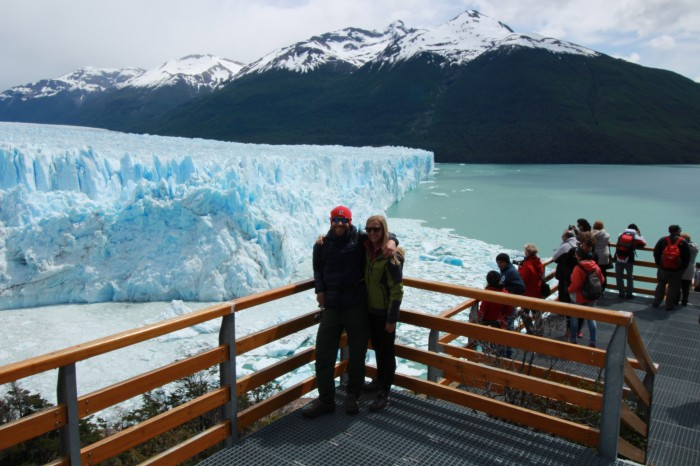 The Perito Moreno Glacier is one of the most spectacular things we've ever seen