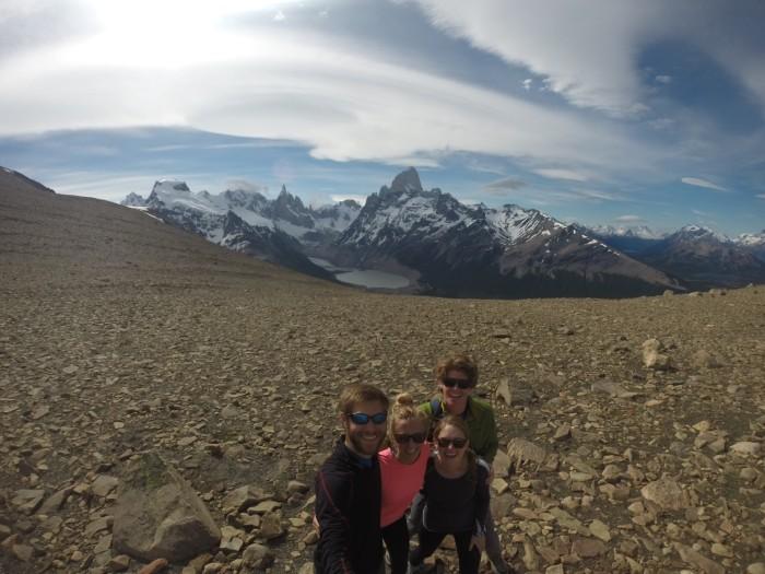 Pliegue Tumbado hike in El Chalten