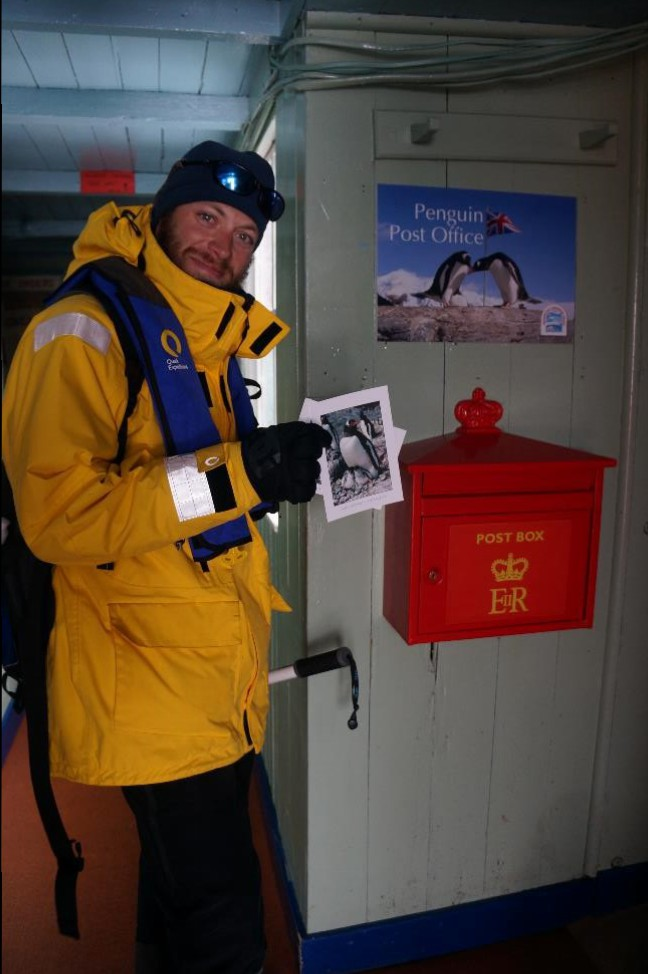 Greetings from Antarctica!